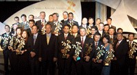 Photo of inaugural 'Changi Airline Awards' ceremony.