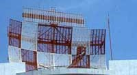 Photo of LORADS II (Long Range Radar and Display System) .
