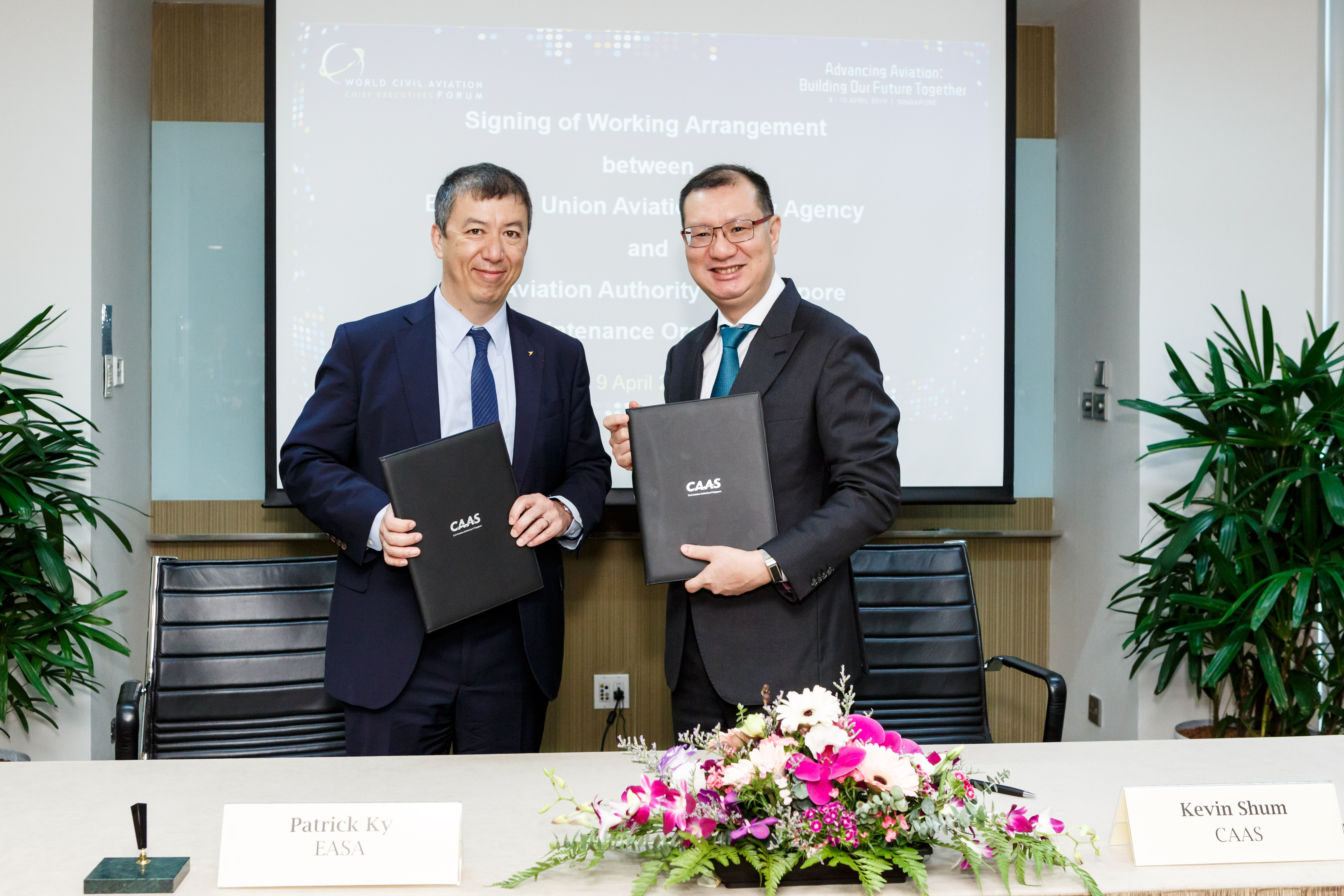 CAAS and EASA Strengthen Collaboration with New Working Arrangement on Aviation Maintenance