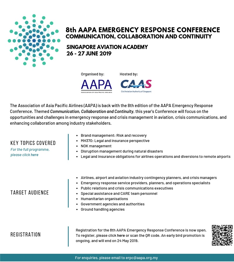 8th AAPA Emergency Response Conference