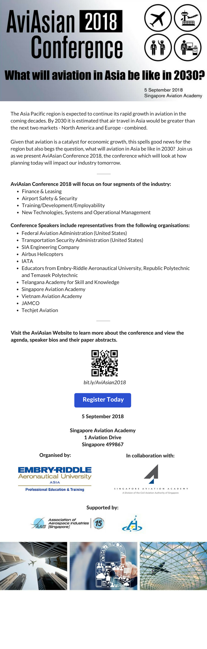 AviAsian Conference 2018