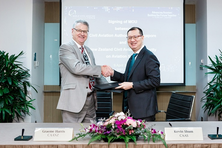 CAAS Collaborates with Civil Aviation Authority of New Zealand to Enhance Aviation Safety