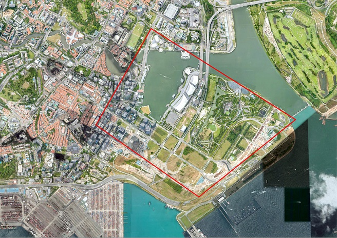 Establishment of Temporary Restricted Area During Intelligent Transport Systems World Congress 2019