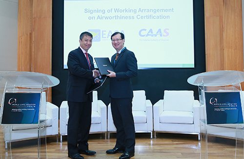 CAAS and EASA Expand Collaboration with New Working Arrangement on Airworthiness Certification (2)